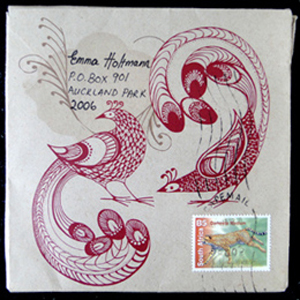 Beautifull Detail on Envelope