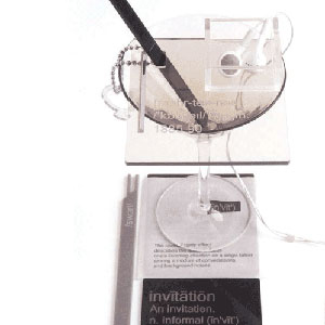 Perspex Wedding Invitation Set