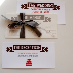 Brown Minimalistic Invitation