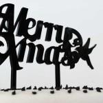 Merry Christmas Caketopper