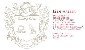 Eben Haezer Logo