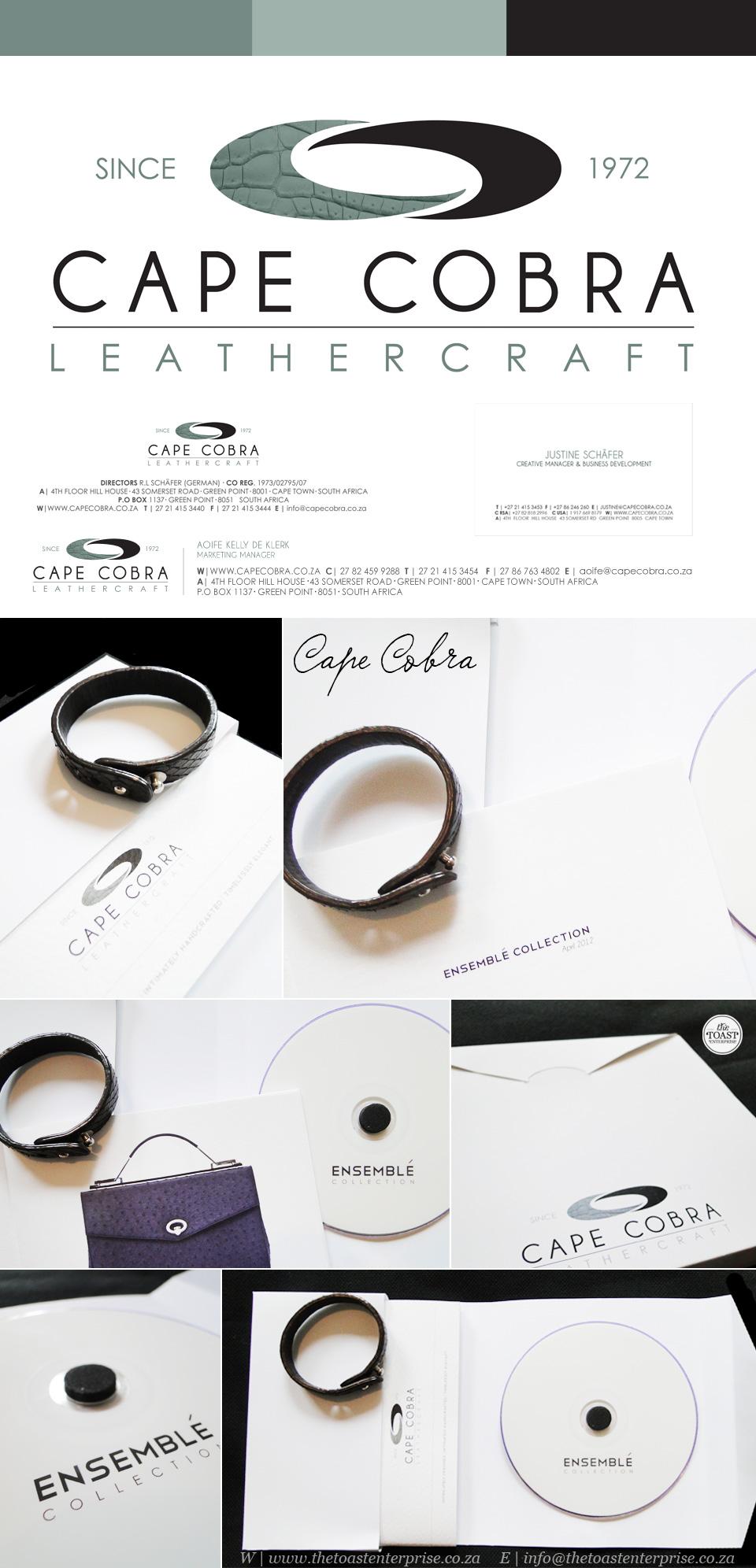 Corporate Identity - Cape Cobra