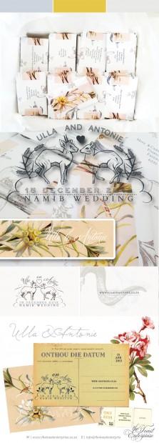 Ulla & Antonie Namib Wedding