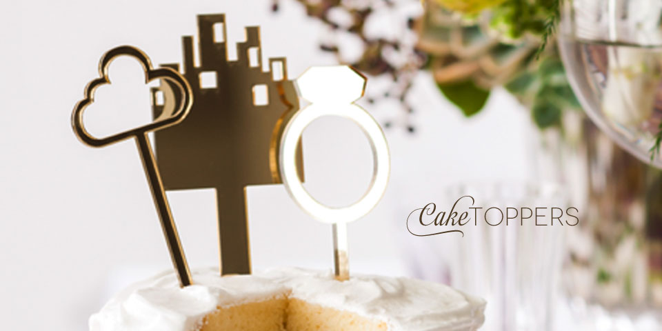 Cake Toppers & Lasercut Stationery